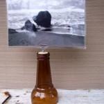 beach photo holder