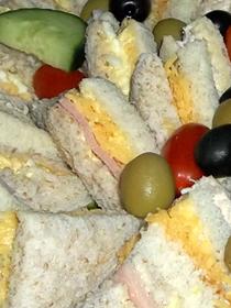 sandwich platters are versatile snack platters