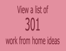 301 work from home ideas