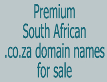 South African Domain Names For Sale