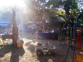 market day at Yellowwood Forest