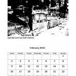 Free February 2014 calendar markets