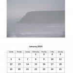 Free January 2014 calendar Morgan Bay