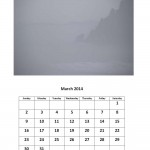 Free March 2014 calendar Morgan Bay