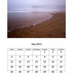 May 2014 calendar Morgan Bay