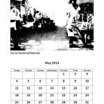 Free 2014 calendar May
