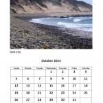 Free 2014 calendar for October 2014