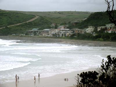 Morgan Bay Beach and Morgan Bay Village