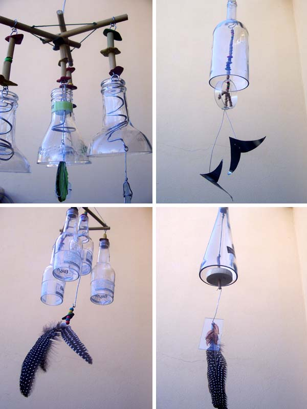 outdoor mobiles or windchimes
