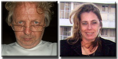TonyFlangian and TeresaSchultz Bubblews Profile Pics