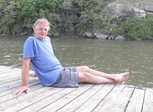 at the river at Areena Riverside Resort