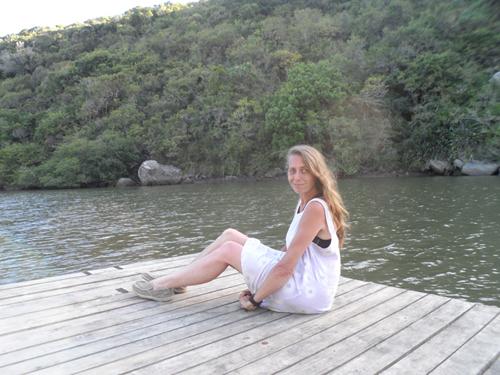relaxing riverside at Areena Riverside Resort