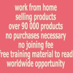 work from home selling products