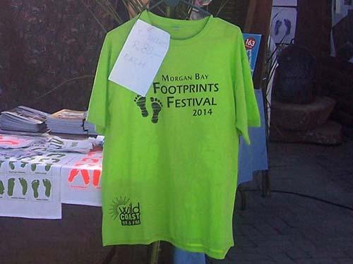 Footprints Festival Tshirt