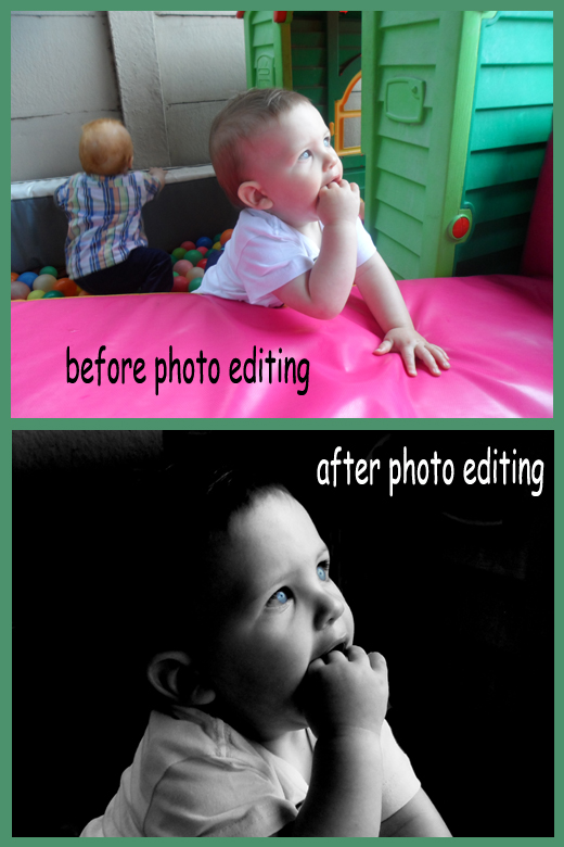 before and after photo editing example