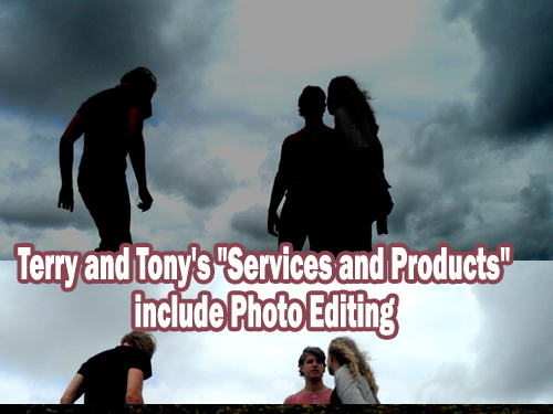 services and products photo editing