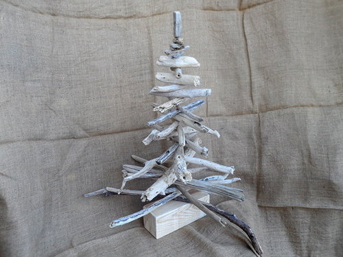 Driftwood Christmas Trees 85cm tall for sale in East London R220 each - can post a driftwood Christmas tree to towns in South Africa via Postnet to Postnet at an extra charge for postage and packaging - prices subject to change