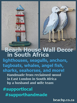 Beach House Wall Decor in South Africa - and more! - visit beachy.co.za